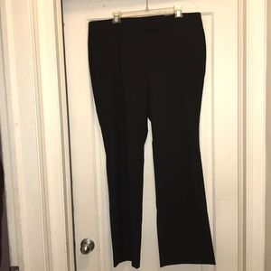Ann Taylor Signature black Trouser dress pants